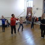 Ateliers de danse avec des professionnels