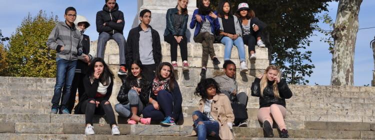 Les jeunes au festival CIRCA à Auch