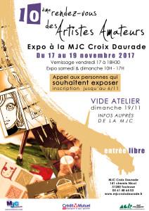 Rendez-vous des artistes amateurs 10ème édition @ MJC Croix Daurade | Toulouse | Occitanie | France