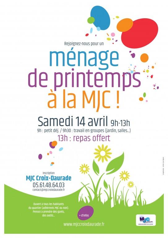 Ménage de printemps MJC