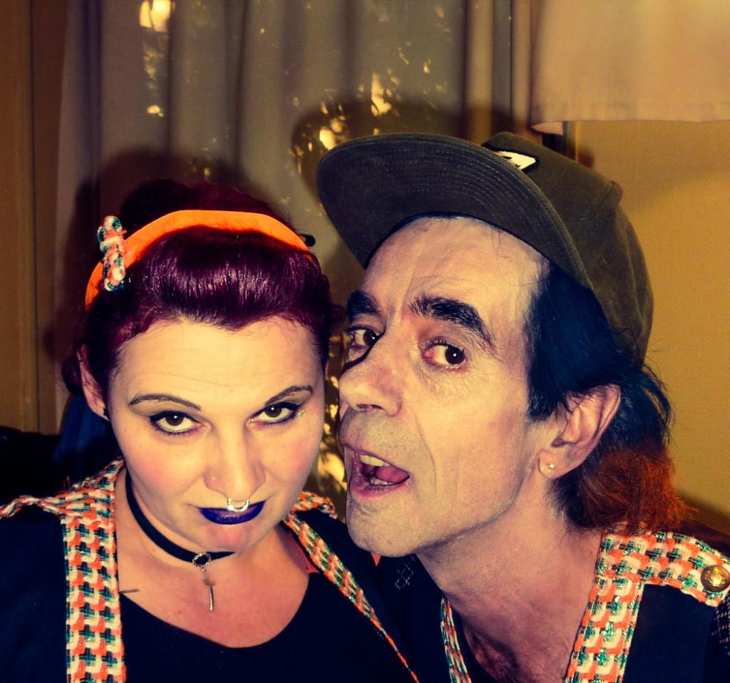 Photo Virginie CUESTA et Jacques BERNEUIL dans les rôles de Nina et Donald LEPRINCE