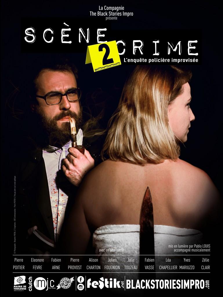 Affiche Scène 2 Crime