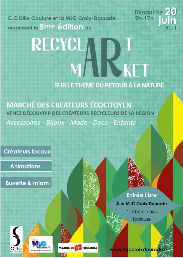 Affiche recyclartmarket